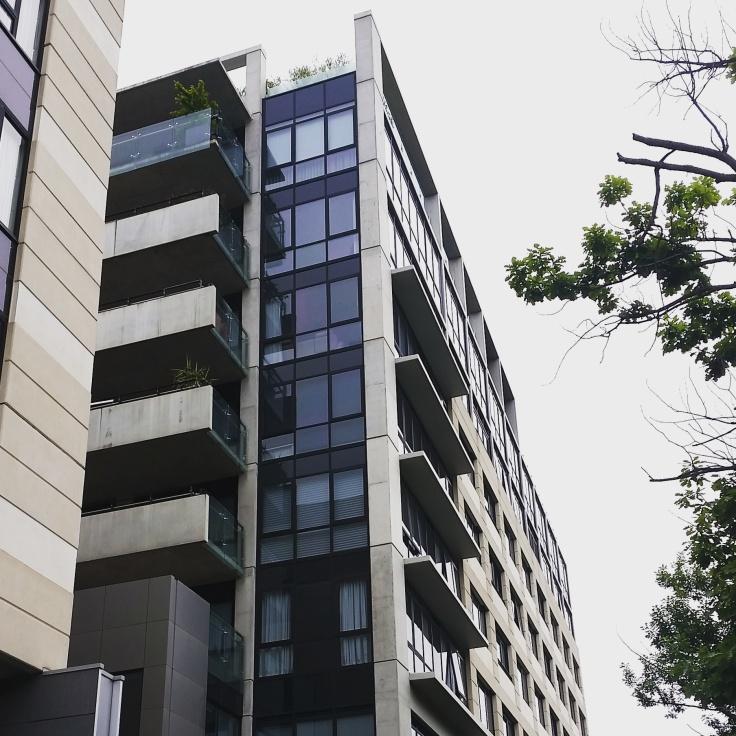All grey building blocks, Canberra, ACT. Photo © Jade Koekoe.
