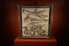 Mosaic of fish and ducks Pompeii, 1 cent. AD. Photo © Jade Koekoe