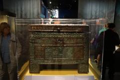 Strong box, Pompeii, metal, 1 cent. AD. Photo © Jade Koekoe