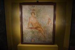 Fresco of Narcissus Pompeii, 1 cent. AD. Photo © Jade Koekoe