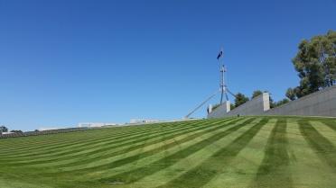 Parliament House, Canberra. Photo © Jade Koekoe